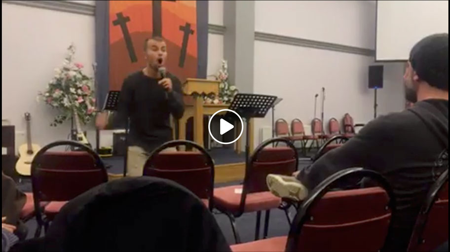 Preaching on suffering – Northern Ireland