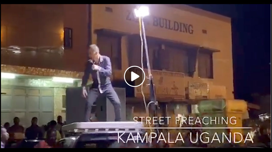 Street Preaching Prostitute Alley Kampala Uganda