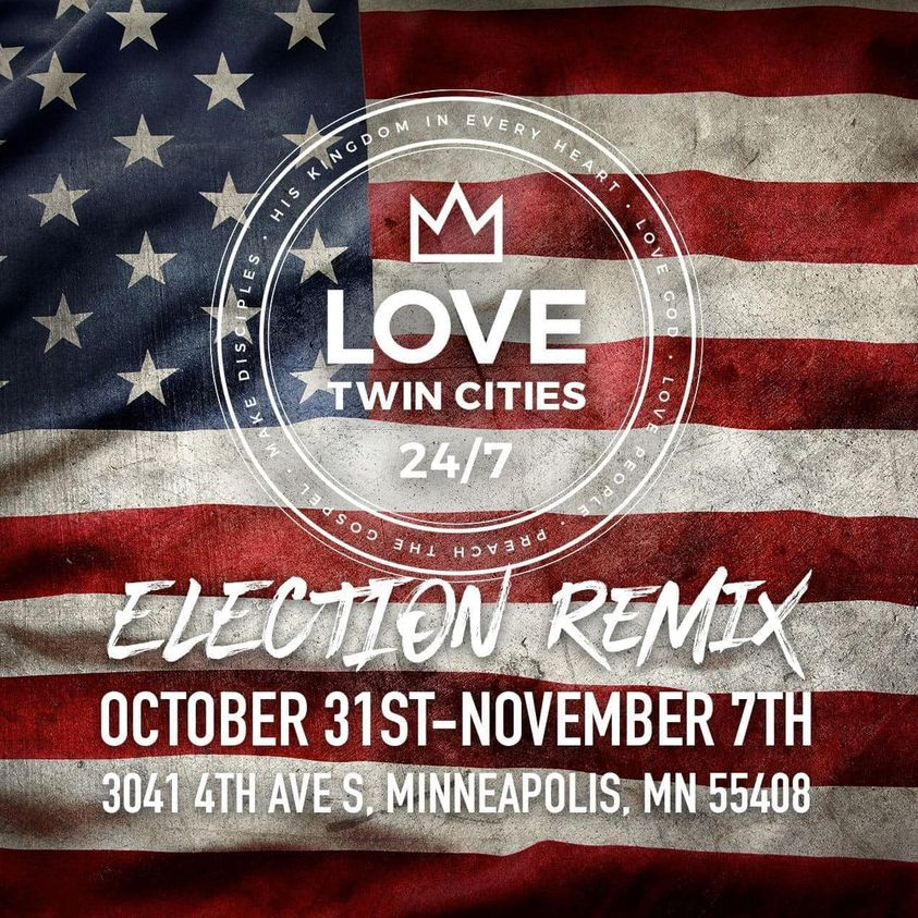 Love Twin Cities poster